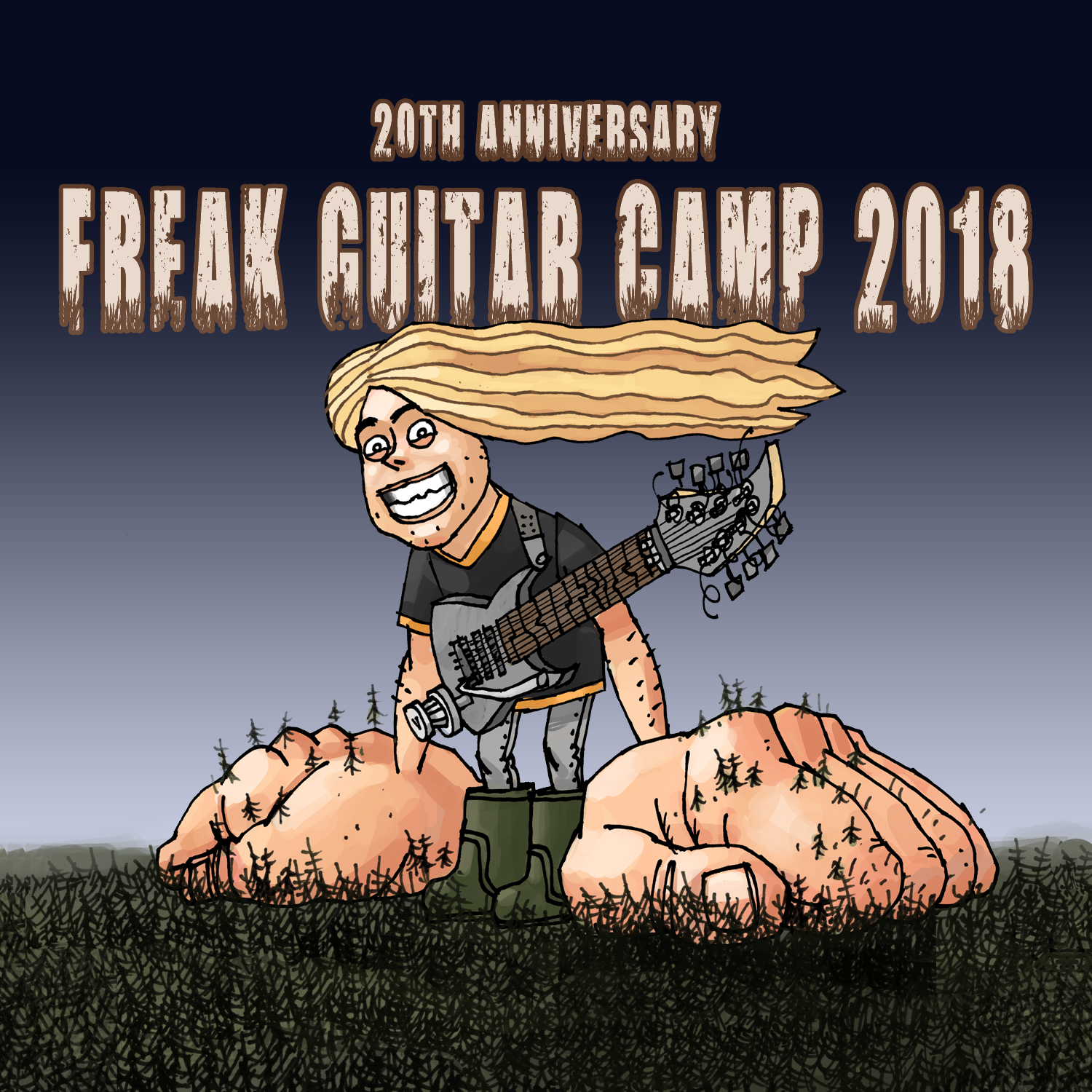 Freak Guitar Camp 2018