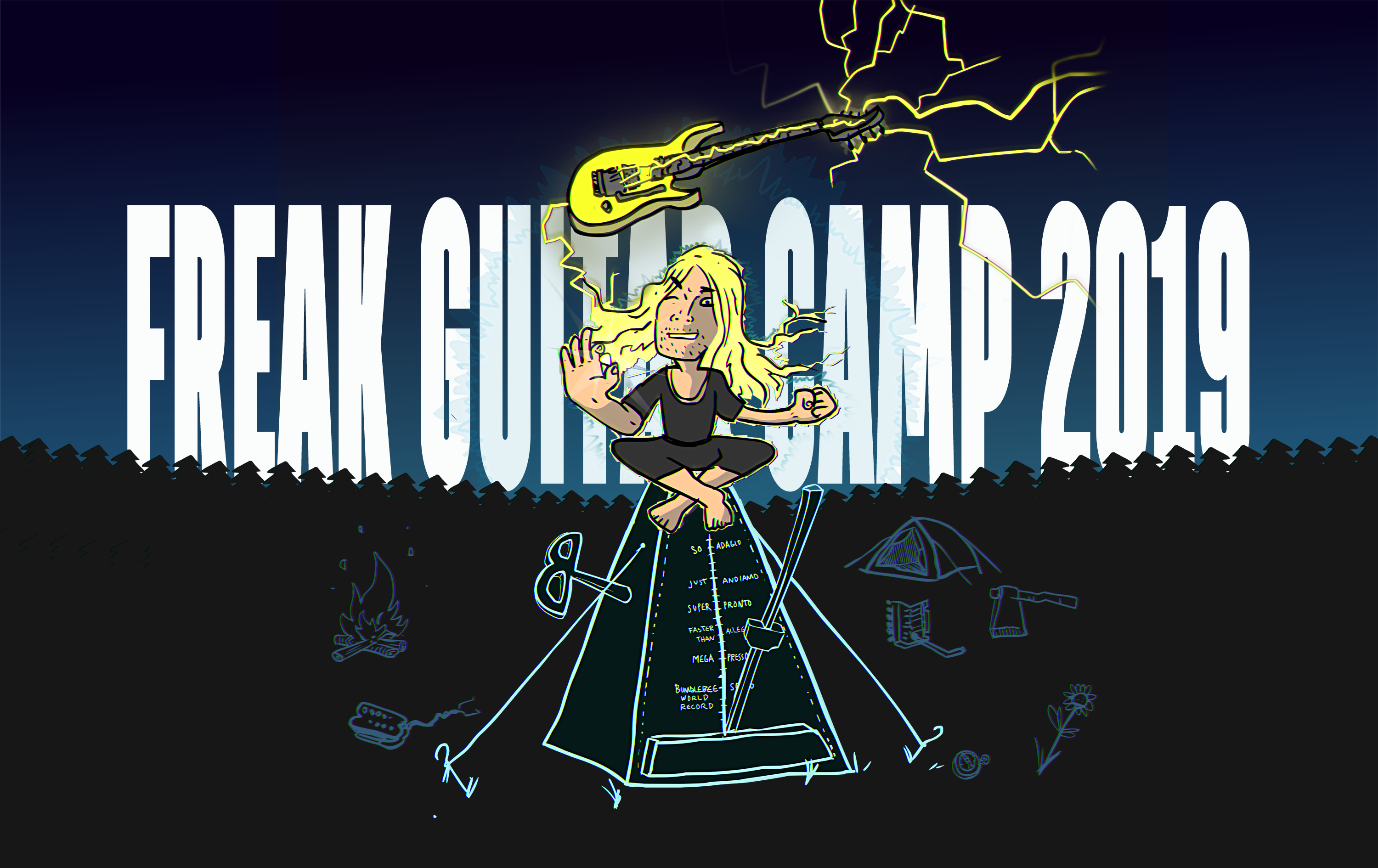 Freak Guitar Camp 2019