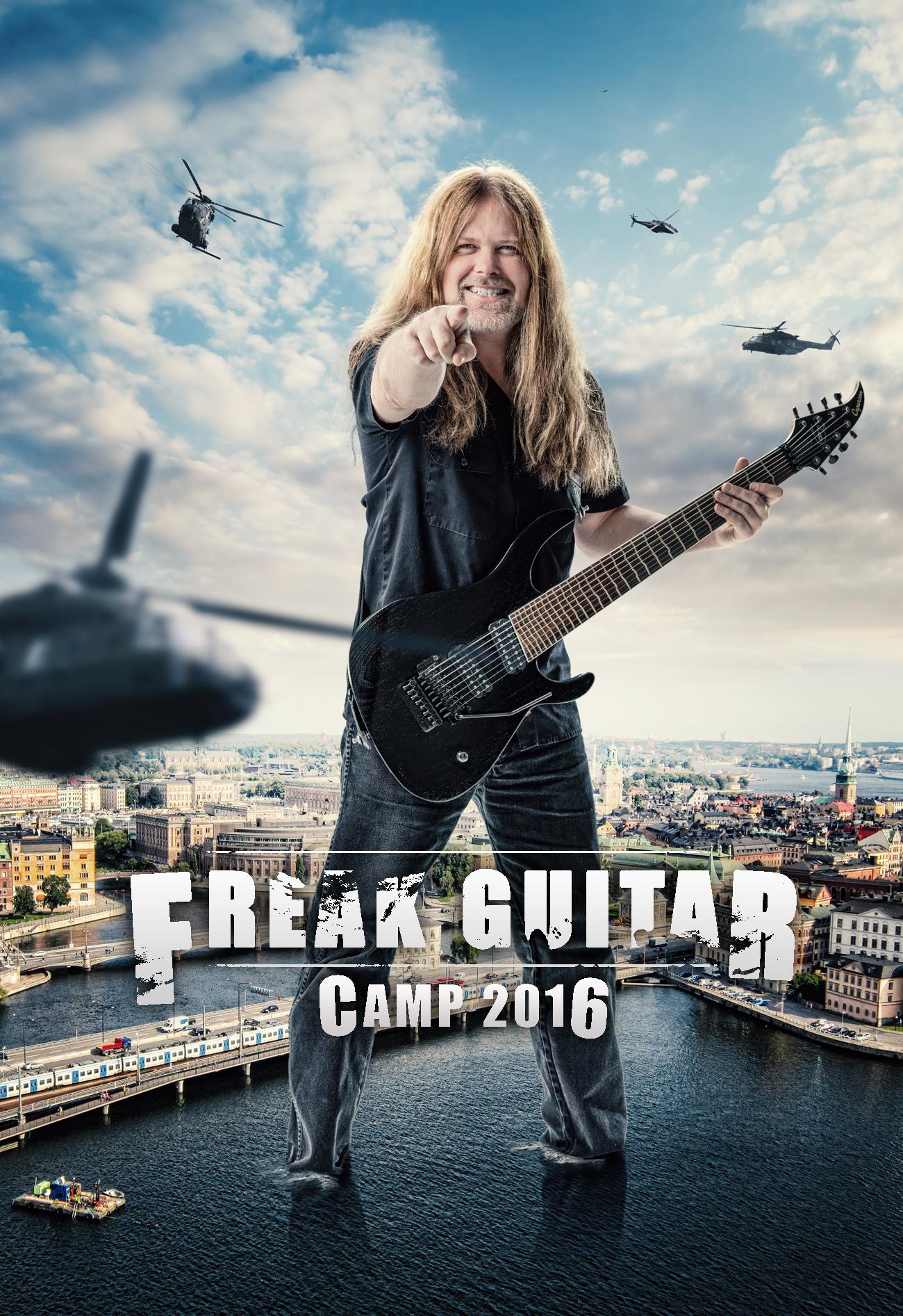 Freak Guitar Camp 2016