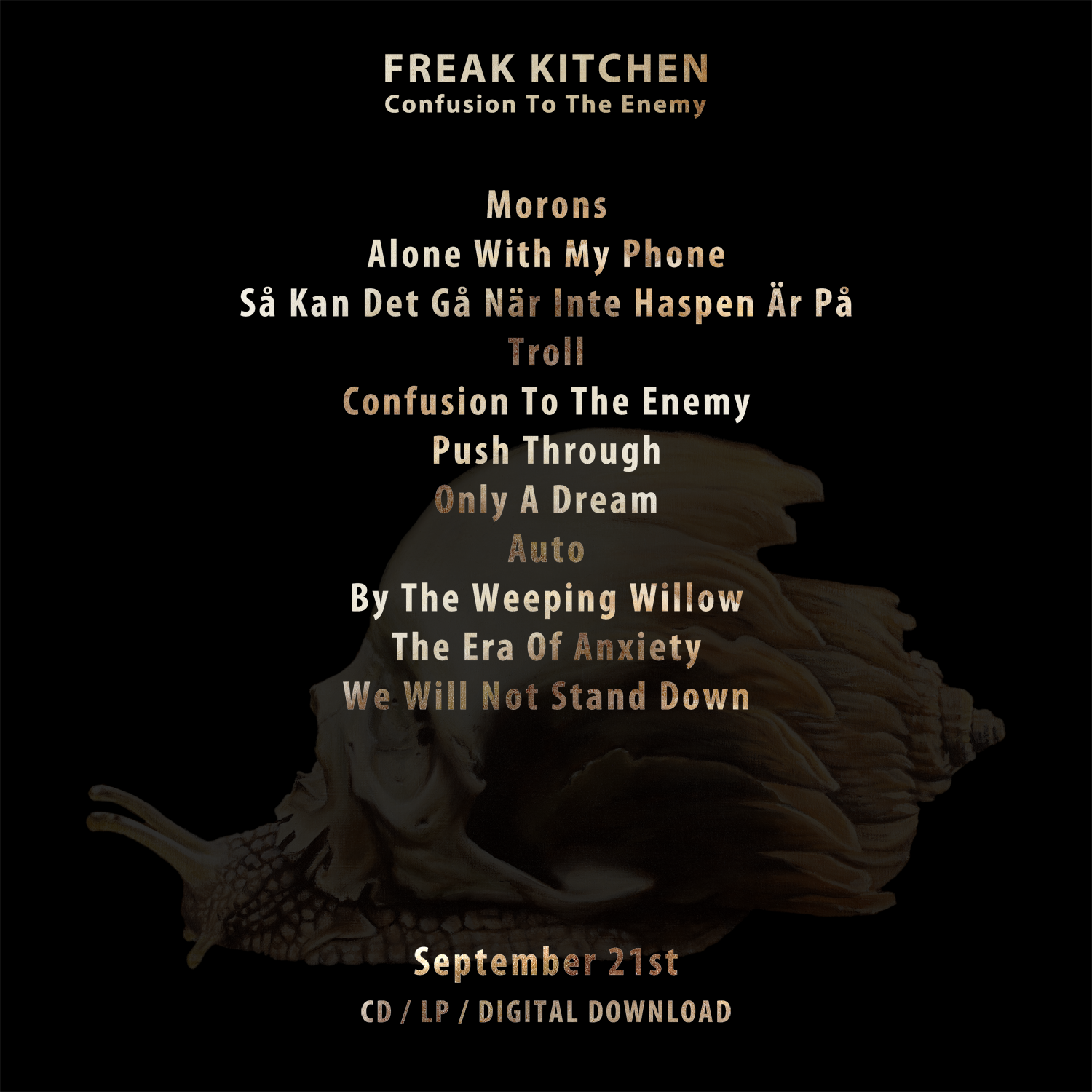 Freak Kitchen - Confusion To The Enemy